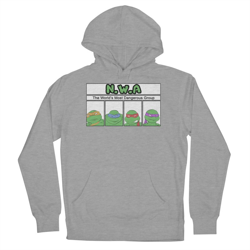 N.W.A Men's French Terry Pullover Hoody by iridescent matter