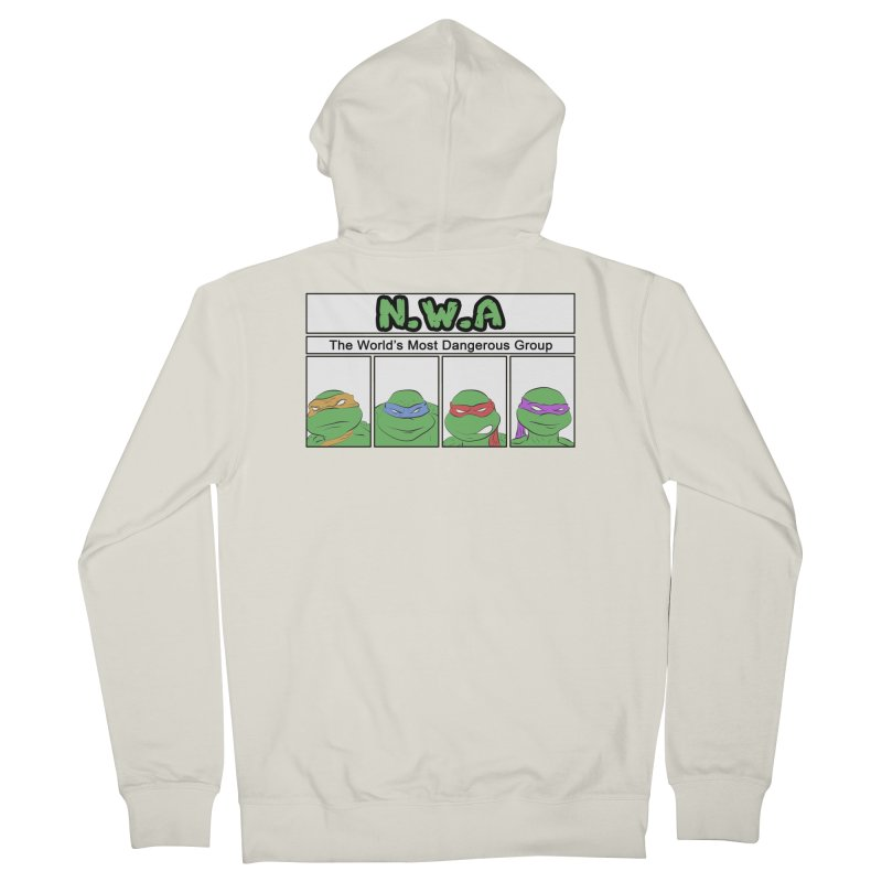 N.W.A Men's Zip-Up Hoody by iridescent matter