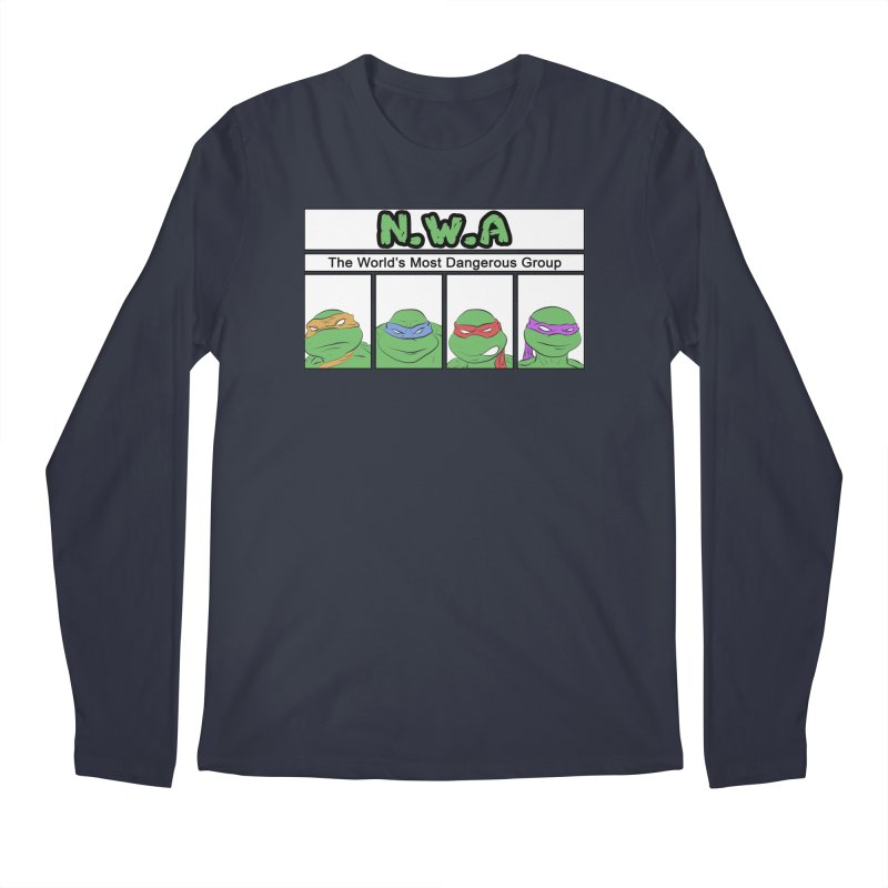 N.W.A Men's Regular Longsleeve T-Shirt by iridescent matter
