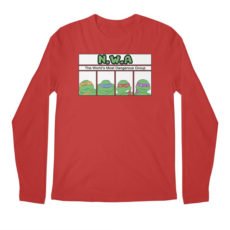 N.W.A Men's Longsleeve T-Shirt by iridescent matter
