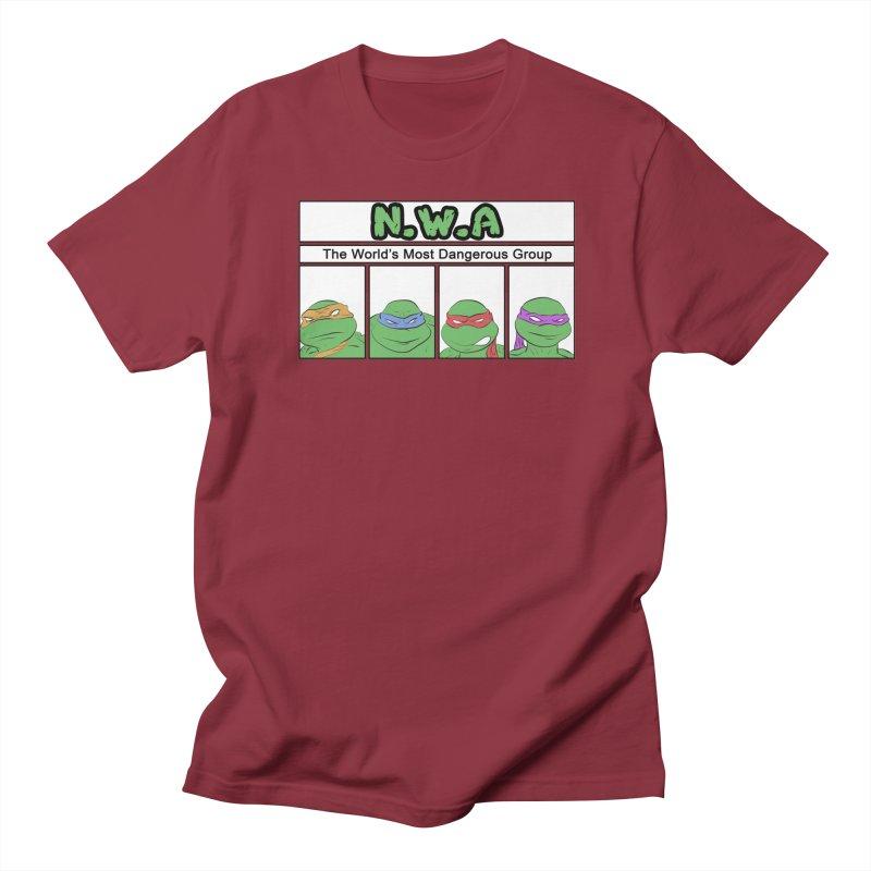 N.W.A Men's T-Shirt by iridescent matter