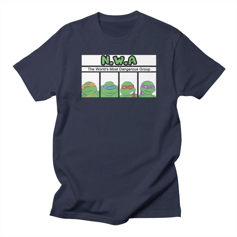 N.W.A Men's Regular T-Shirt by iridescent matter