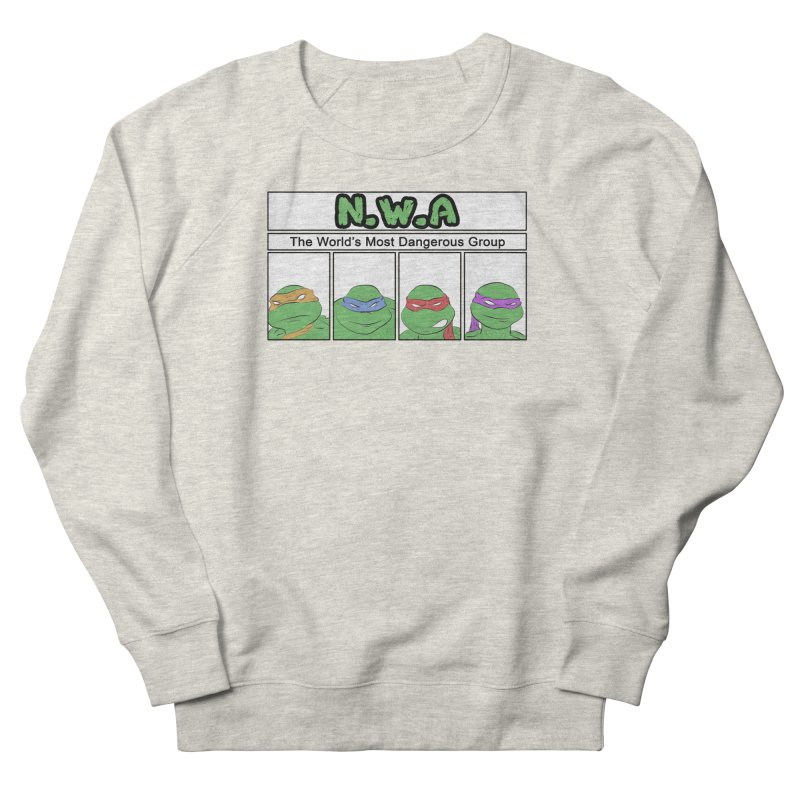 N.W.A Men's French Terry Sweatshirt by iridescent matter