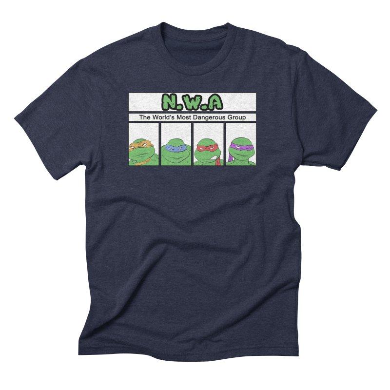 N.W.A Men's Triblend T-Shirt by iridescent matter