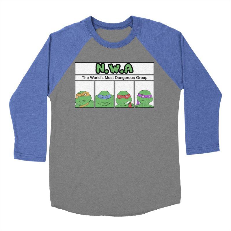 N.W.A Women's Baseball Triblend Longsleeve T-Shirt by iridescent matter