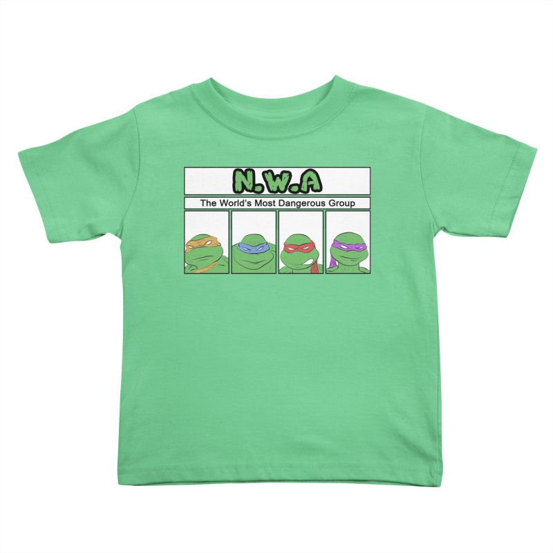 N.W.A Kids Toddler T-Shirt by iridescent matter