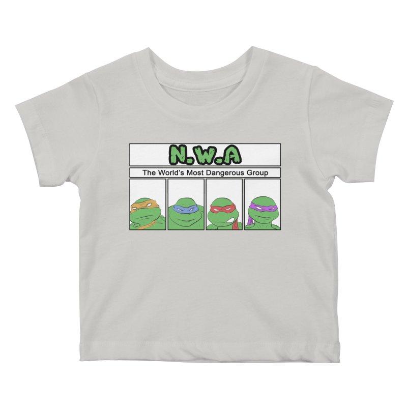 N.W.A Kids Baby T-Shirt by iridescent matter