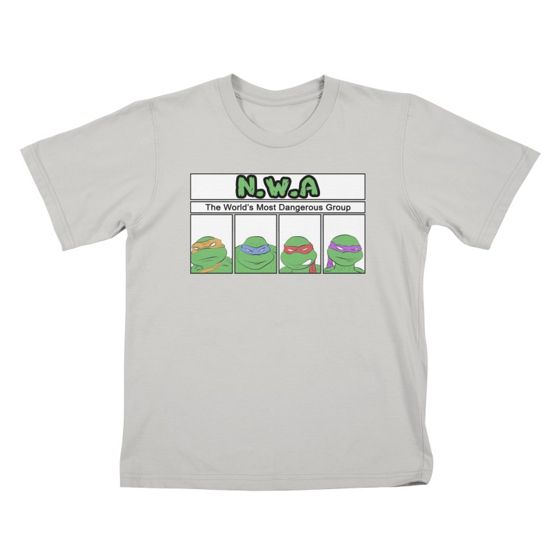 N.W.A Kids T-Shirt by iridescent matter