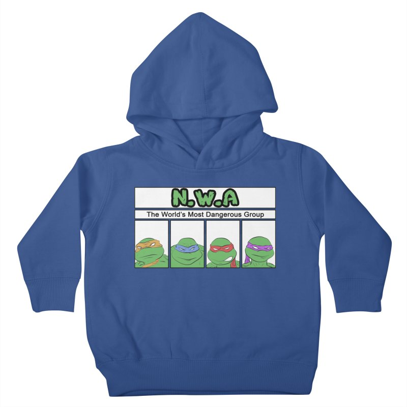 N.W.A Kids Toddler Pullover Hoody by iridescent matter