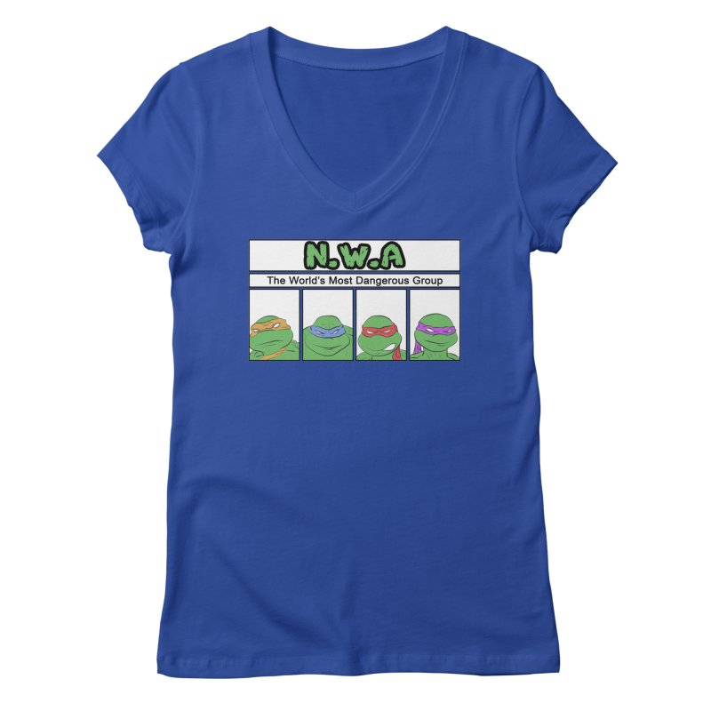 N.W.A Women's Regular V-Neck by iridescent matter