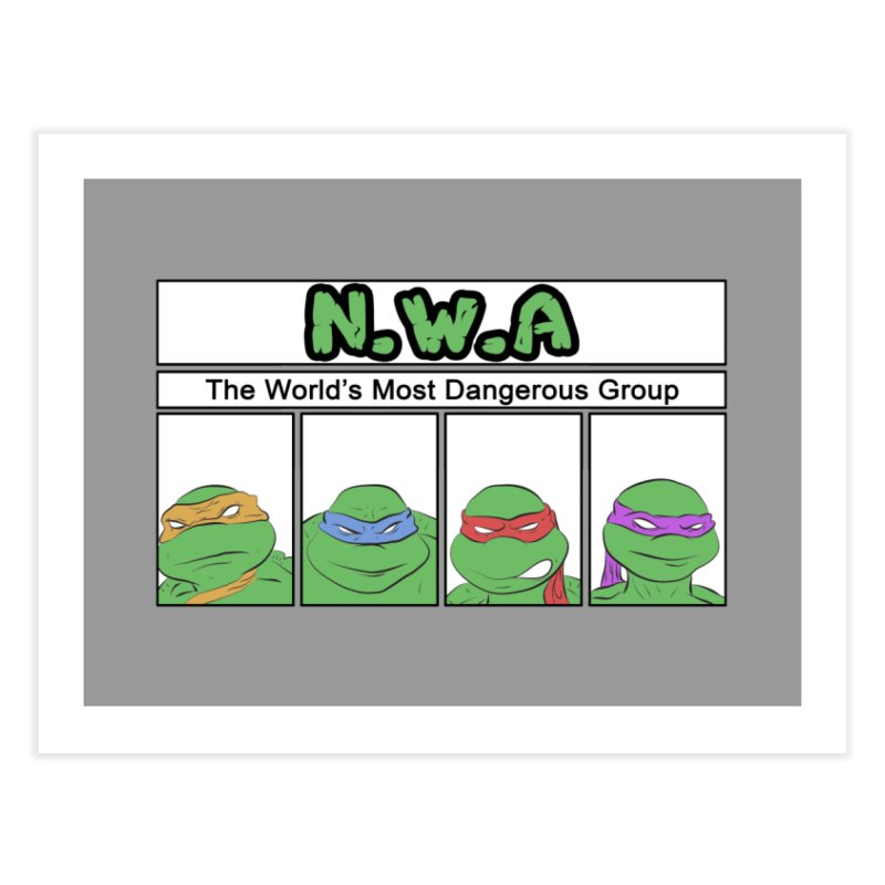 N.W.A Home Fine Art Print by iridescent matter