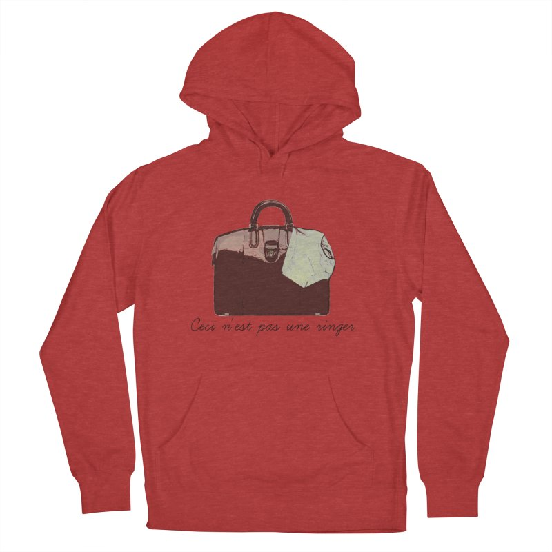 The Treachery of Simple Plans Women's French Terry Pullover Hoody by iridescent matter