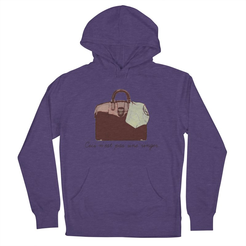 The Treachery of Simple Plans Men's French Terry Pullover Hoody by iridescent matter