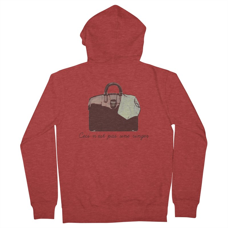 The Treachery of Simple Plans Women's French Terry Zip-Up Hoody by iridescent matter