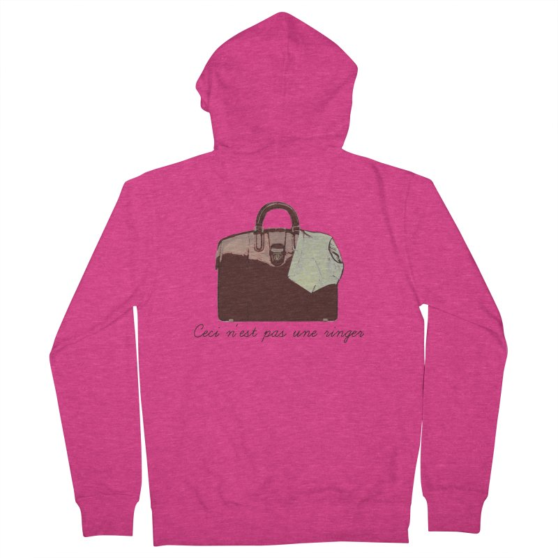 The Treachery of Simple Plans Women's Zip-Up Hoody by iridescent matter