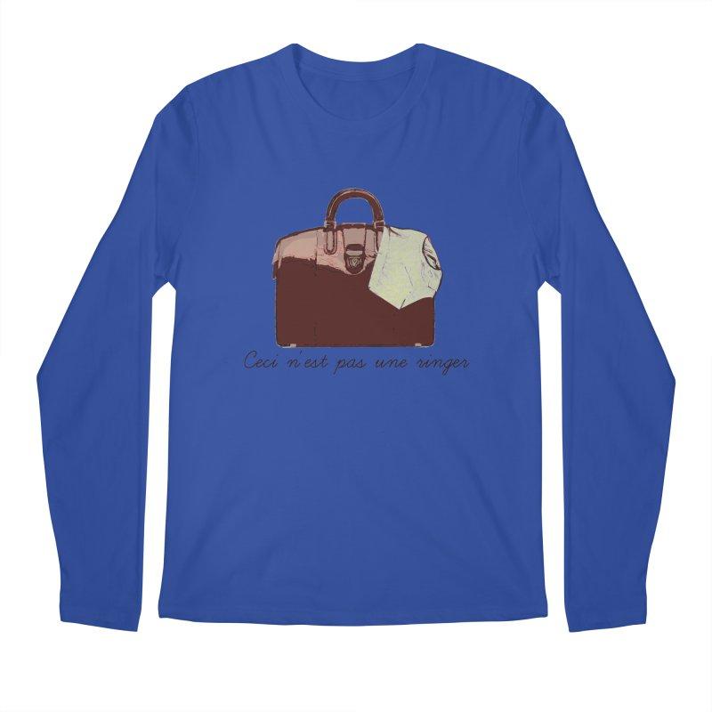 The Treachery of Simple Plans Men's Regular Longsleeve T-Shirt by iridescent matter
