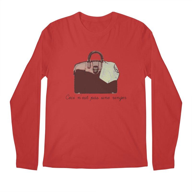 The Treachery of Simple Plans Men's Longsleeve T-Shirt by iridescent matter