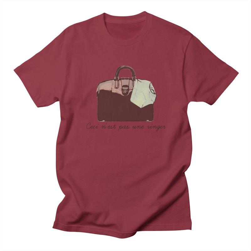 The Treachery of Simple Plans Men's T-shirt by iridescent matter