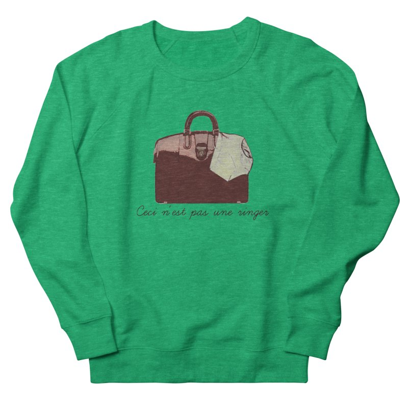 The Treachery of Simple Plans Women's French Terry Sweatshirt by iridescent matter