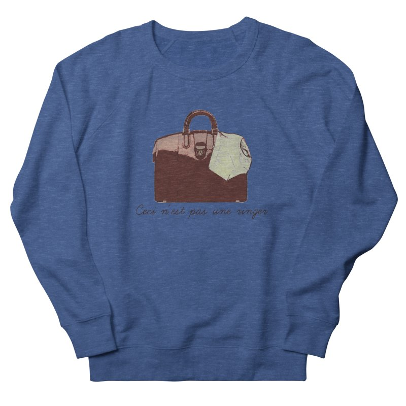 The Treachery of Simple Plans Men's French Terry Sweatshirt by iridescent matter