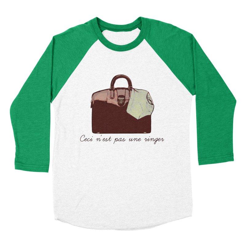 The Treachery of Simple Plans Women's Baseball Triblend T-Shirt by iridescent matter