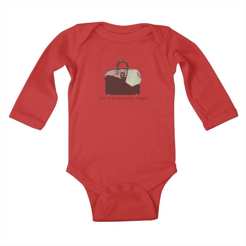 The Treachery of Simple Plans Kids Baby Longsleeve Bodysuit by iridescent matter
