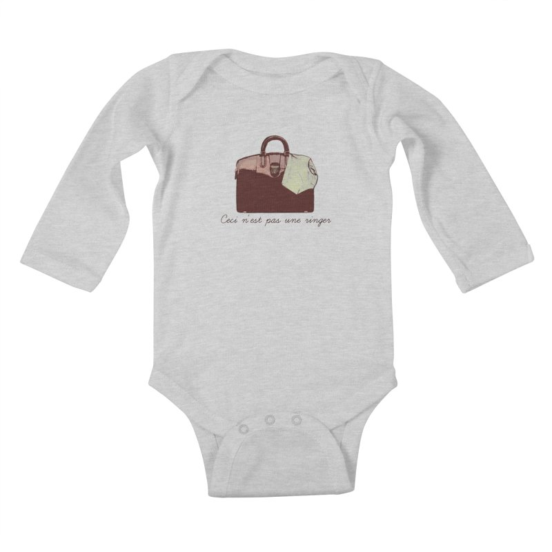 The Treachery of Simple Plans Kids Baby Longsleeve Bodysuit by iridescent matter