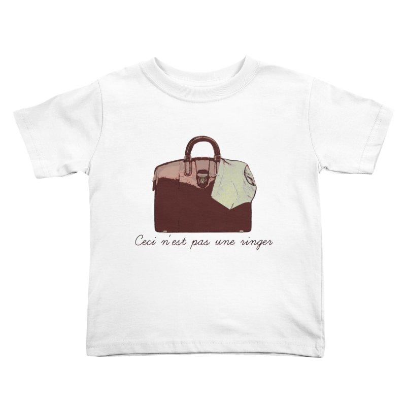 The Treachery of Simple Plans Kids Toddler T-Shirt by iridescent matter