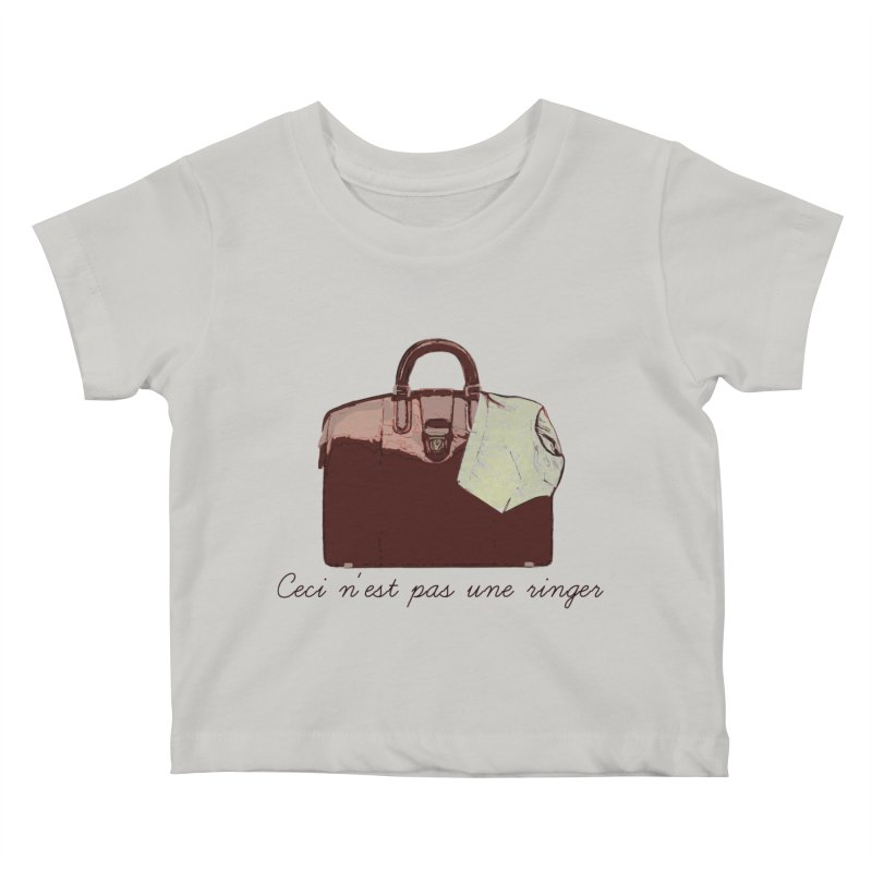 The Treachery of Simple Plans Kids Baby T-Shirt by iridescent matter
