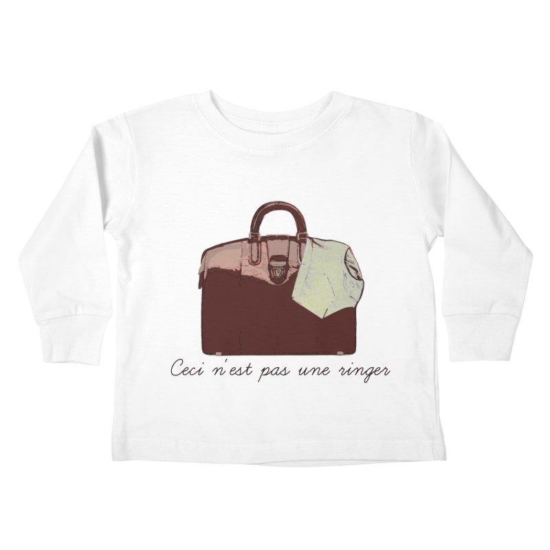 The Treachery of Simple Plans Kids Toddler Longsleeve T-Shirt by iridescent matter