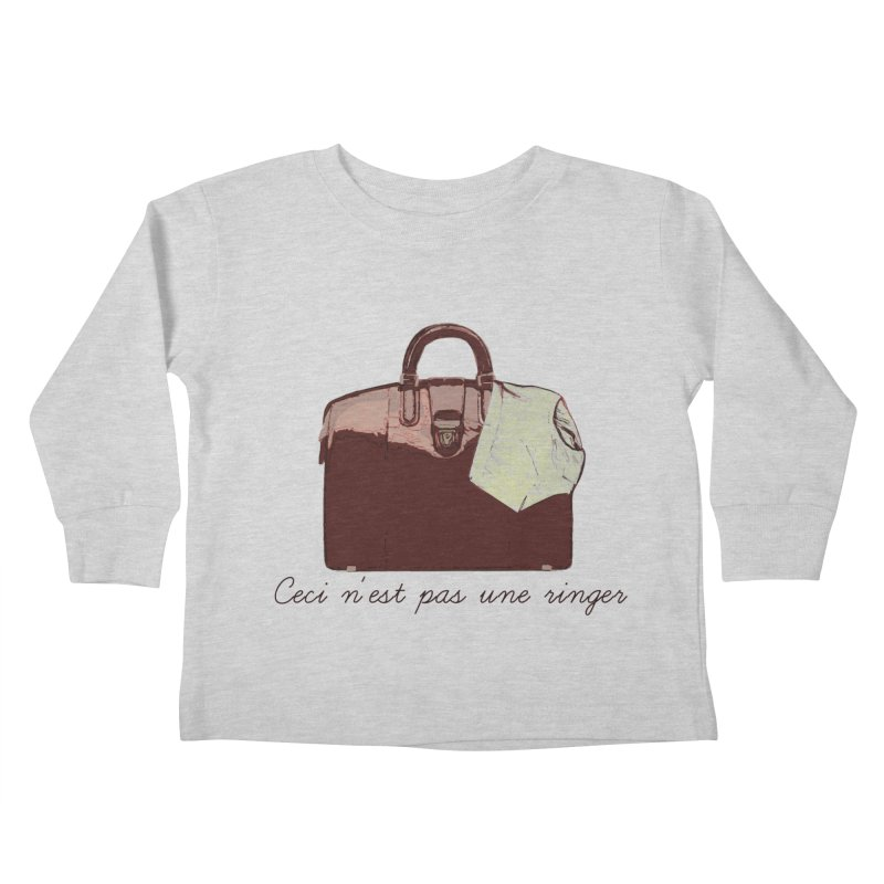 The Treachery of Simple Plans Kids Toddler Longsleeve T-Shirt by iridescent matter