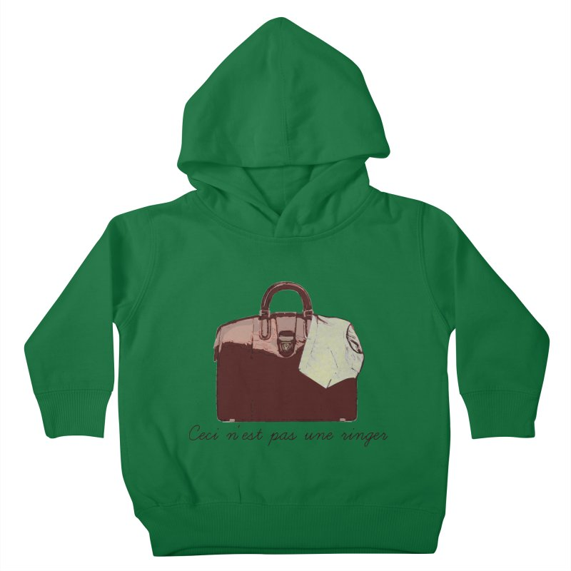 The Treachery of Simple Plans Kids Toddler Pullover Hoody by iridescent matter