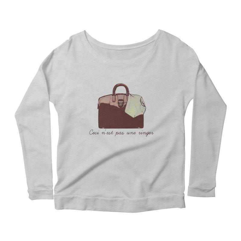 The Treachery of Simple Plans Women's Scoop Neck Longsleeve T-Shirt by iridescent matter