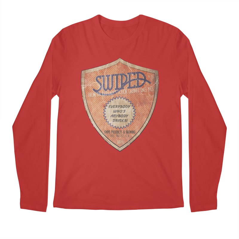 Swiped it from the old lady's liquor cabinet Men's Regular Longsleeve T-Shirt by iridescent matter