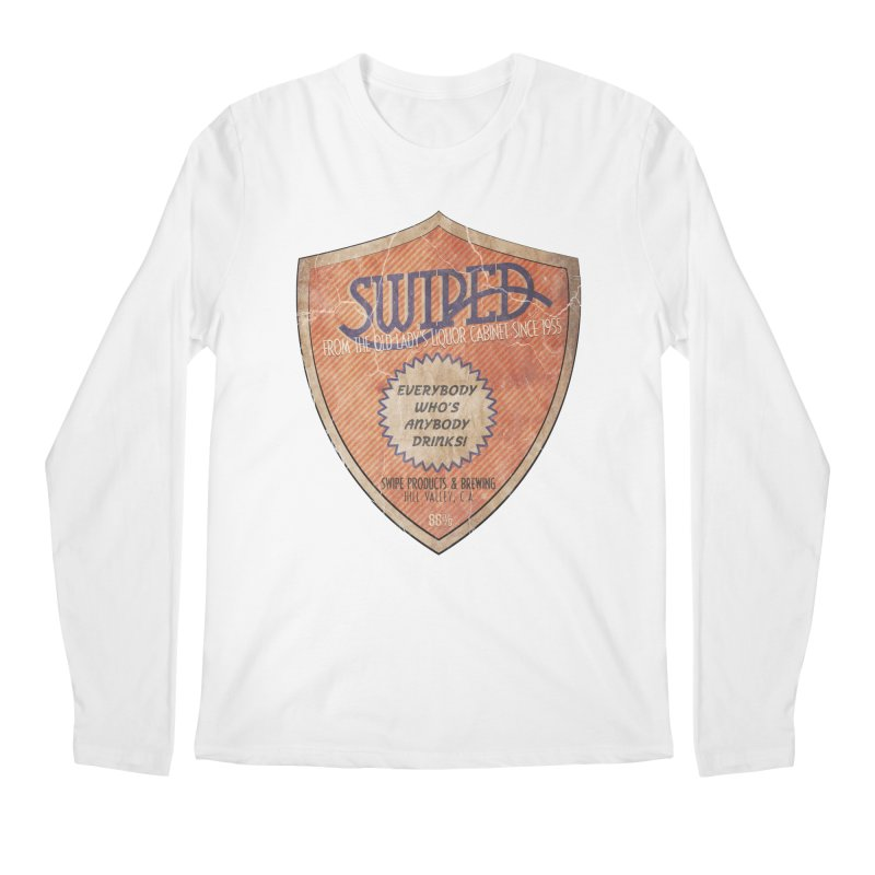 Swiped it from the old lady's liquor cabinet Men's Longsleeve T-Shirt by iridescent matter