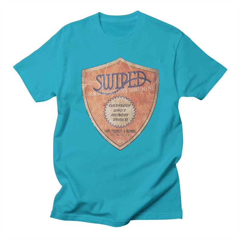 Swiped it from the old lady's liquor cabinet Men's T-Shirt by iridescent matter