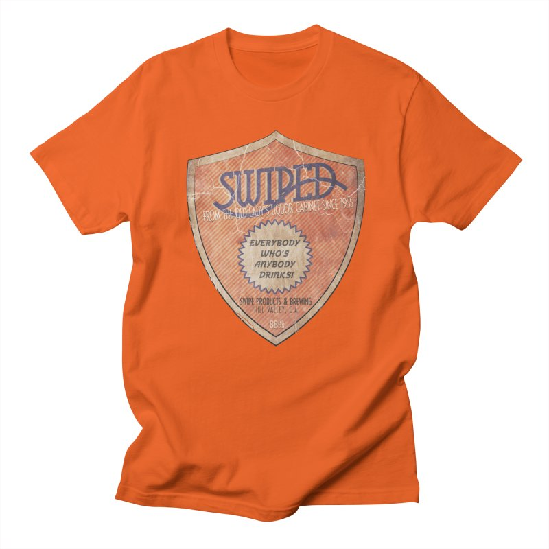 Swiped it from the old lady's liquor cabinet Men's Regular T-Shirt by iridescent matter
