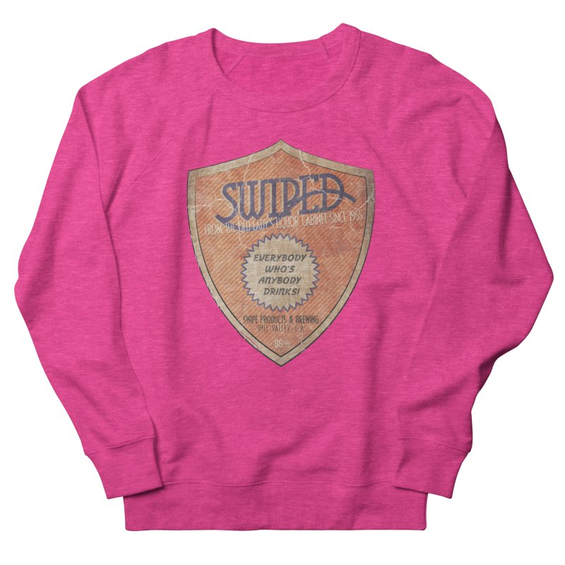 Swiped it from the old lady's liquor cabinet Men's Sweatshirt by iridescent matter