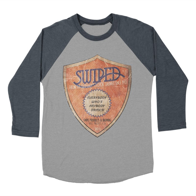 Swiped it from the old lady's liquor cabinet Women's Baseball Triblend T-Shirt by iridescent matter