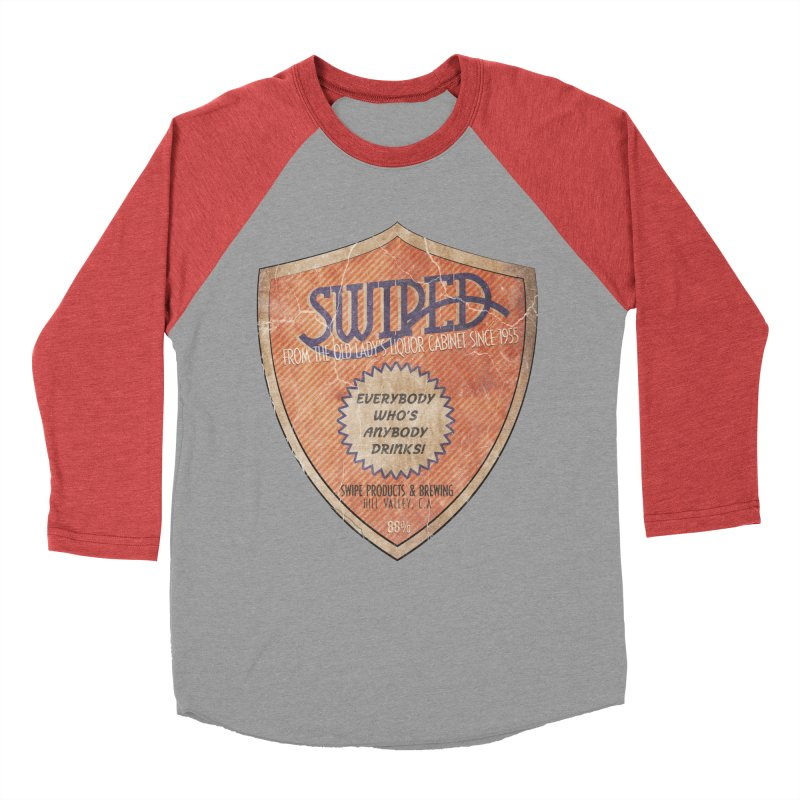 Swiped it from the old lady's liquor cabinet Men's Baseball Triblend T-Shirt by iridescent matter