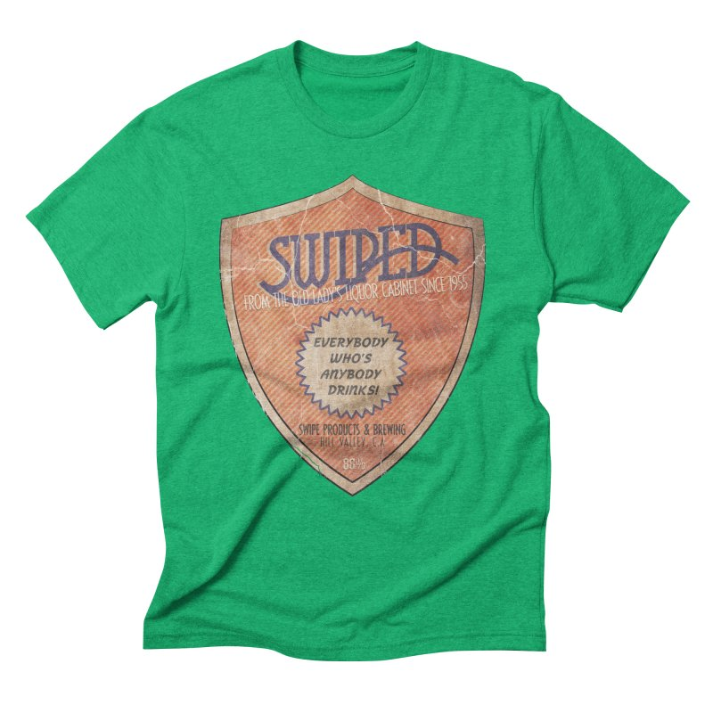 Swiped it from the old lady's liquor cabinet Men's Triblend T-shirt by iridescent matter