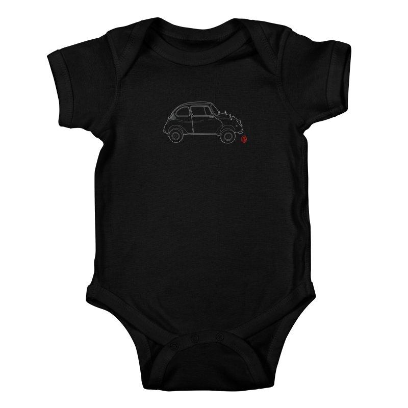 Soob 360 Kids Baby Bodysuit by 70six's Artist Shop