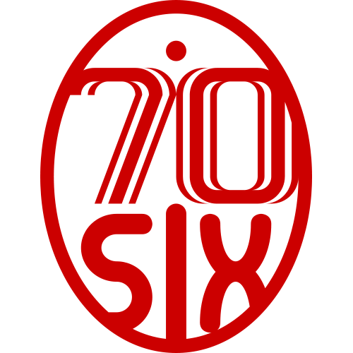 70six's Artist Shop Logo