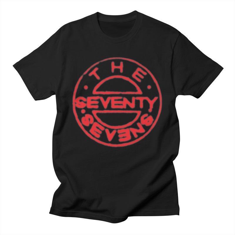 1987 Bass Drum Art (Black) Men's T-Shirt by 77s Artist Shop