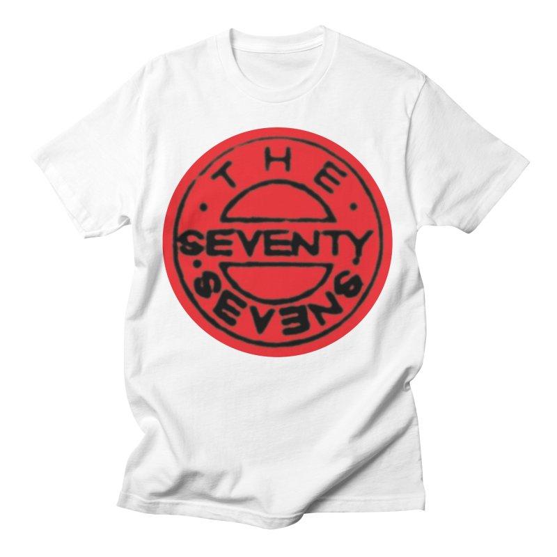 1987 Bass Drum Art (Red) Men's T-Shirt by 77s Artist Shop