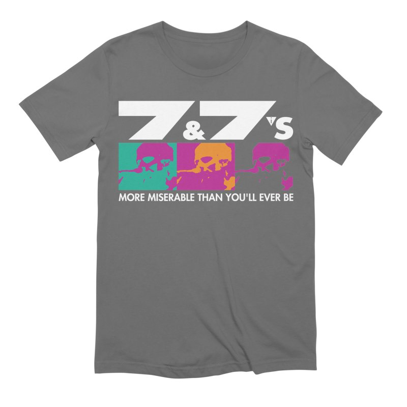 More Miserable Than You'll Ever Be (vs1) Men's T-Shirt by 77s Artist Shop