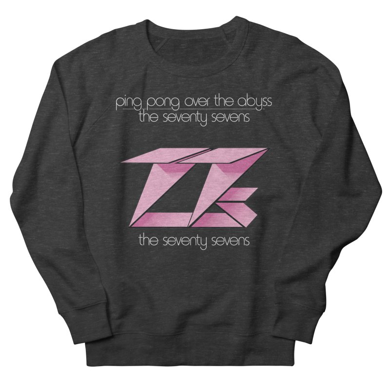 Ping Pong Over The Abyss Women's Sweatshirt by 77s Artist Shop