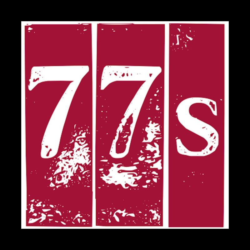 77s (Distressed) Men's T-Shirt by 77s Artist Shop