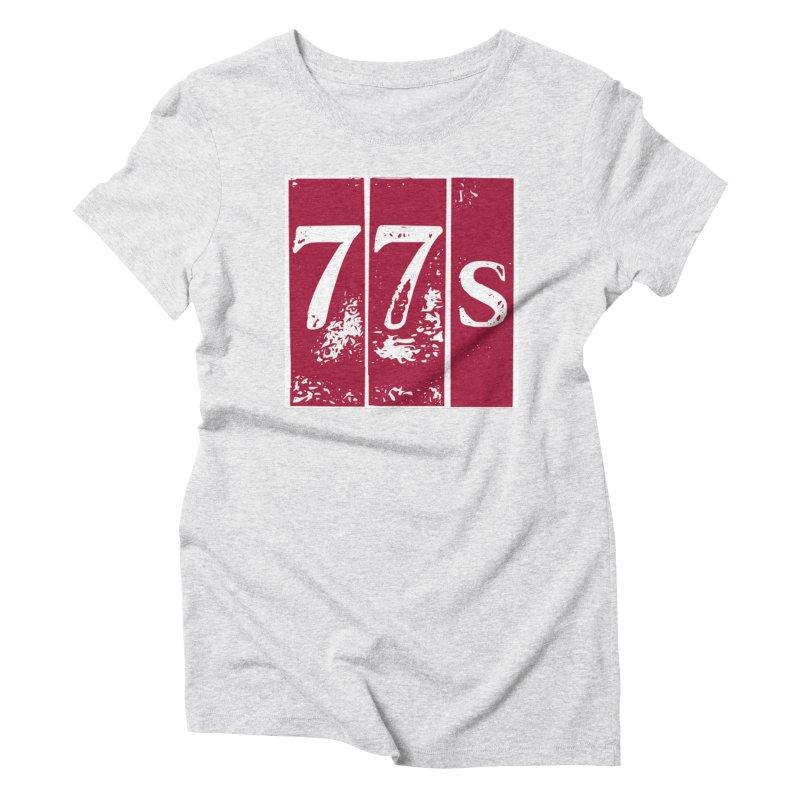 77s (Distressed) Women's T-Shirt by 77s Artist Shop