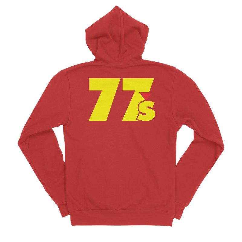 77s (1987) Women's Zip-Up Hoody by 77s Artist Shop